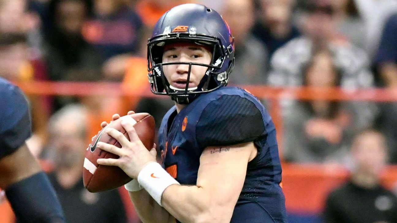Syracuse quarterback Rex Culpepper is cancer-free and ready to compete when the Orange begin preseason camp in August.