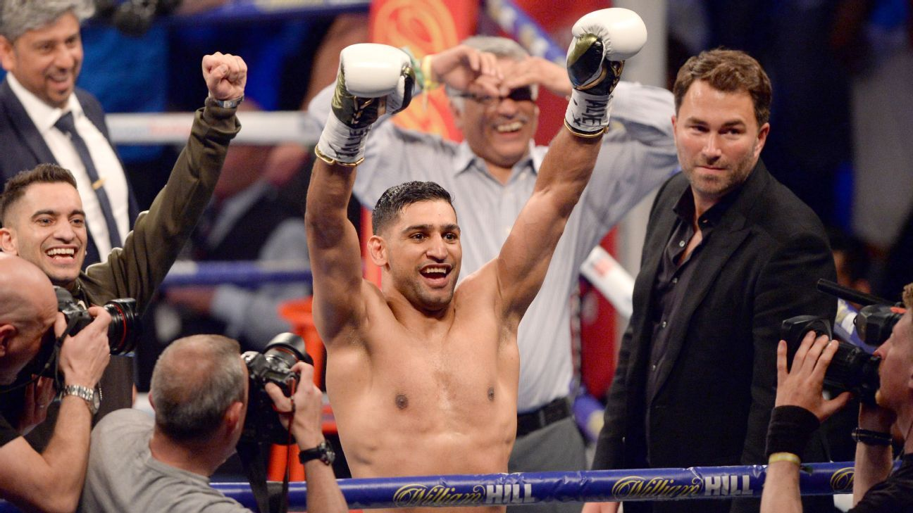 """Los boxeadores en el peso welter están """"juntos, pero no ..."""