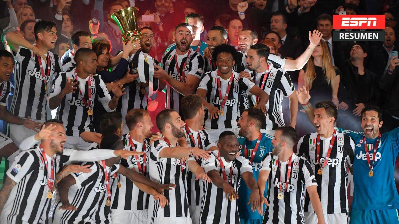 Juventus vs. AC Milan - Reporte del Partido - 9 mayo, 2018 - ESPN