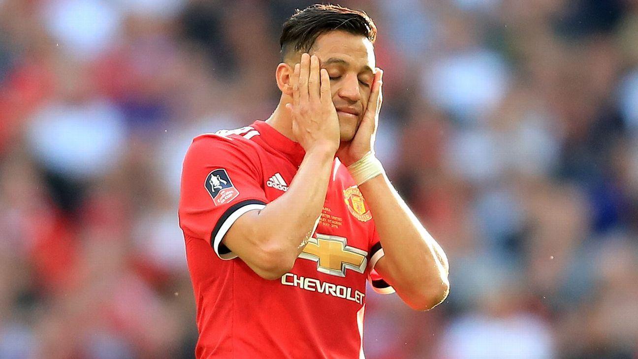 Sanchez not on Man United's flight for U.S. tour
