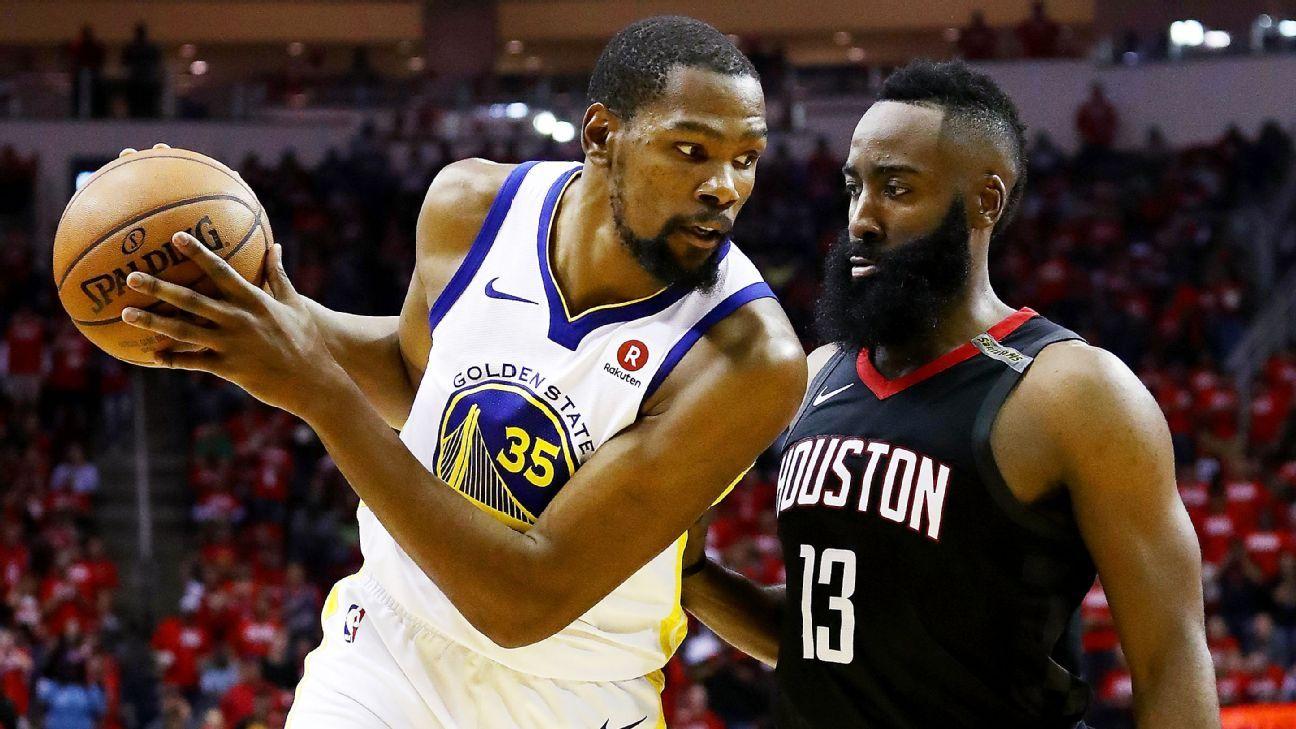 NBA playoff predictions - ESPN Forecast on Rockets, Warriors, Celtics, Cavaliers