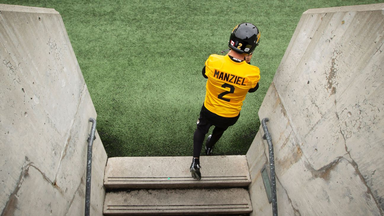 Johnny Manziel said on the eve of his CFL debut: