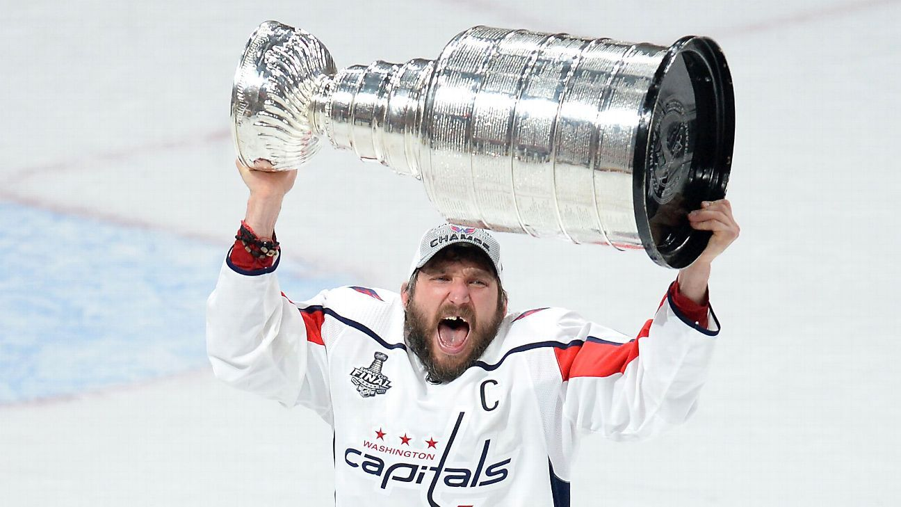 2018 Stanley Cup Final - Alex Ovechkin and the Washington ...