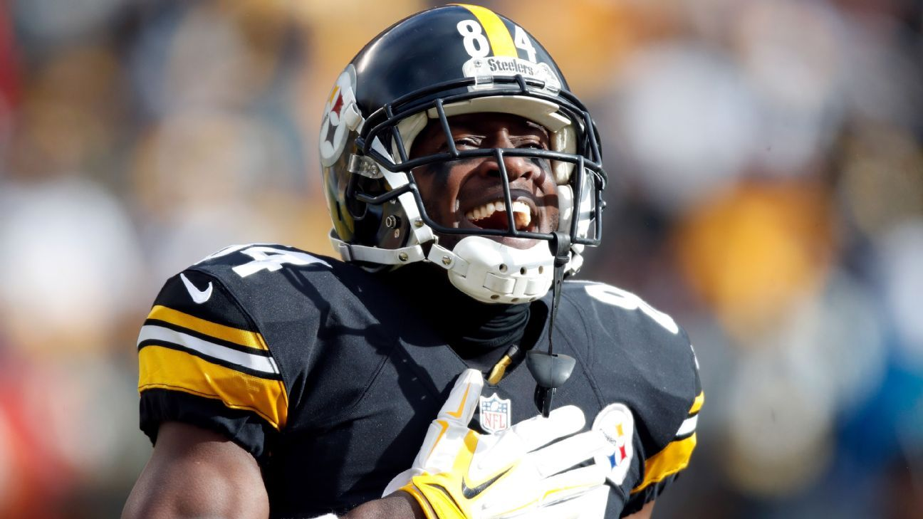 Coach Mike Tomlin provided few details about Antonio Brown's injury but classified the ailment as