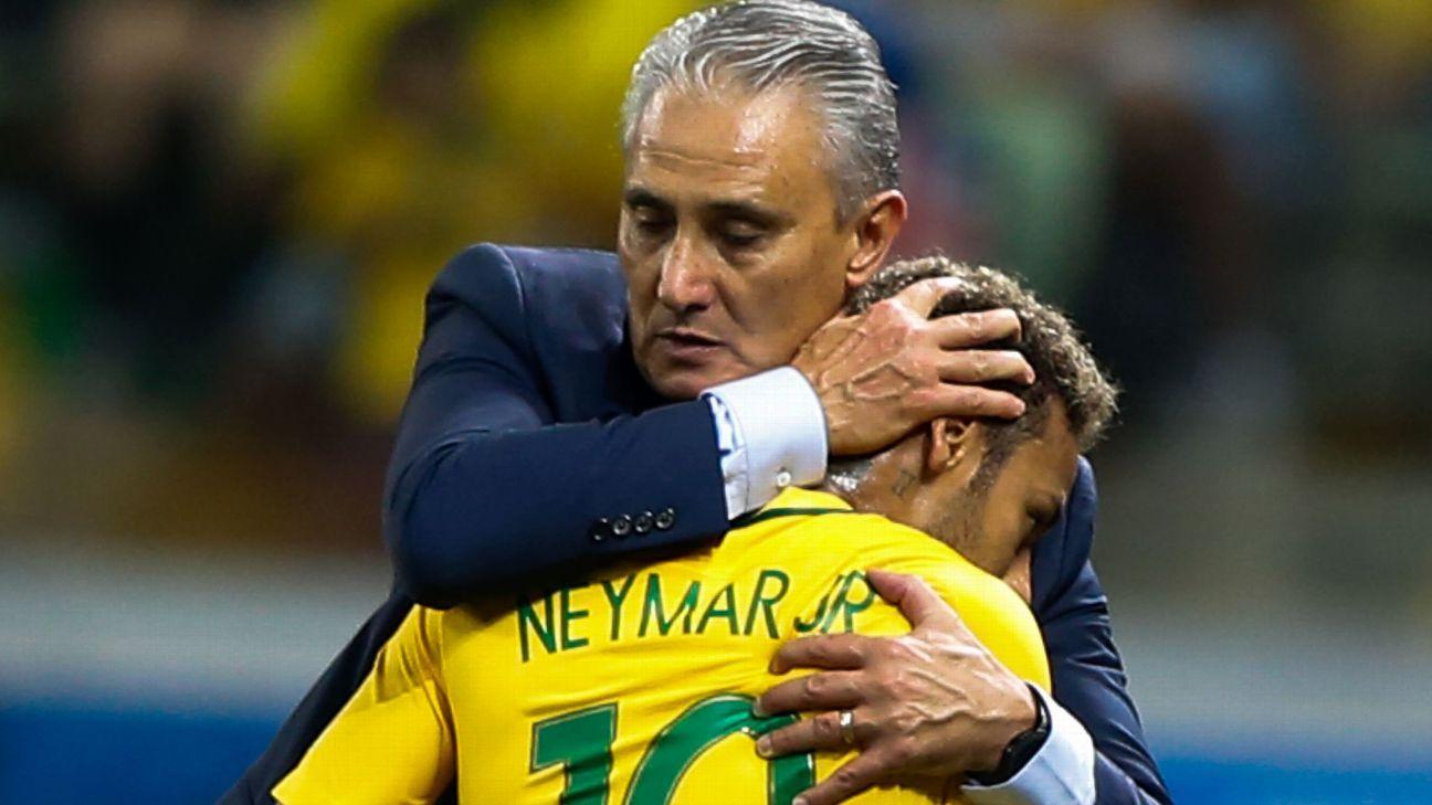 neymar cai cai tite se nega a falar sobre e s 243 elogia