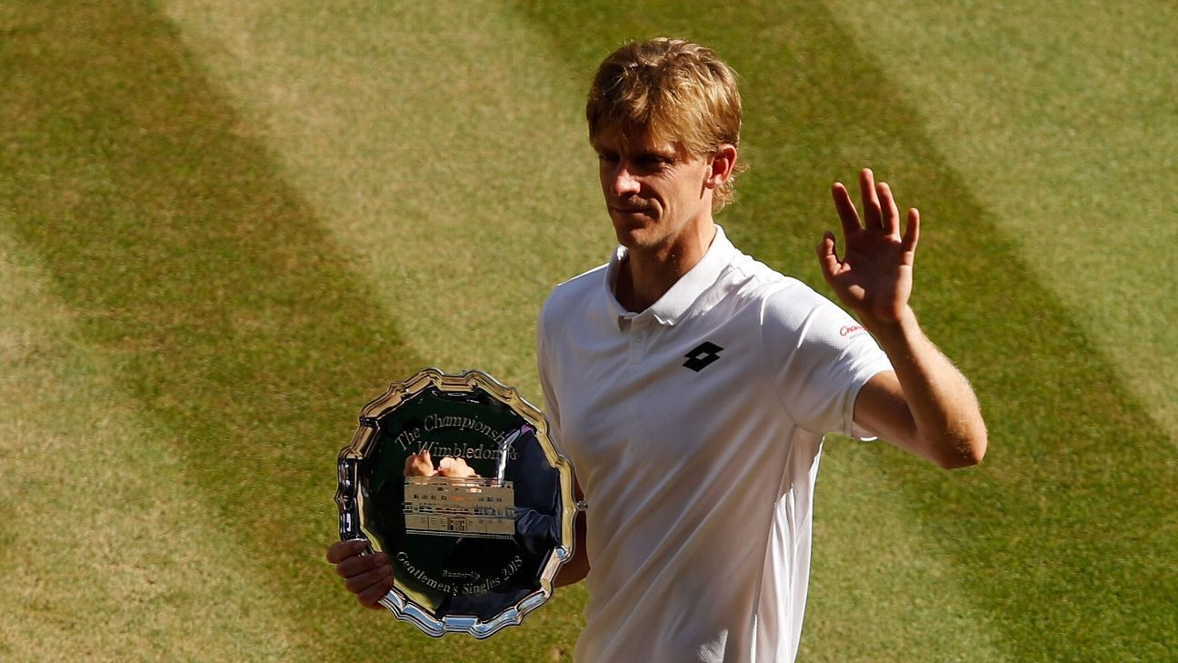 Wimbledon 2018 -- Kevin Anderson takes inspiration from marathon run to final