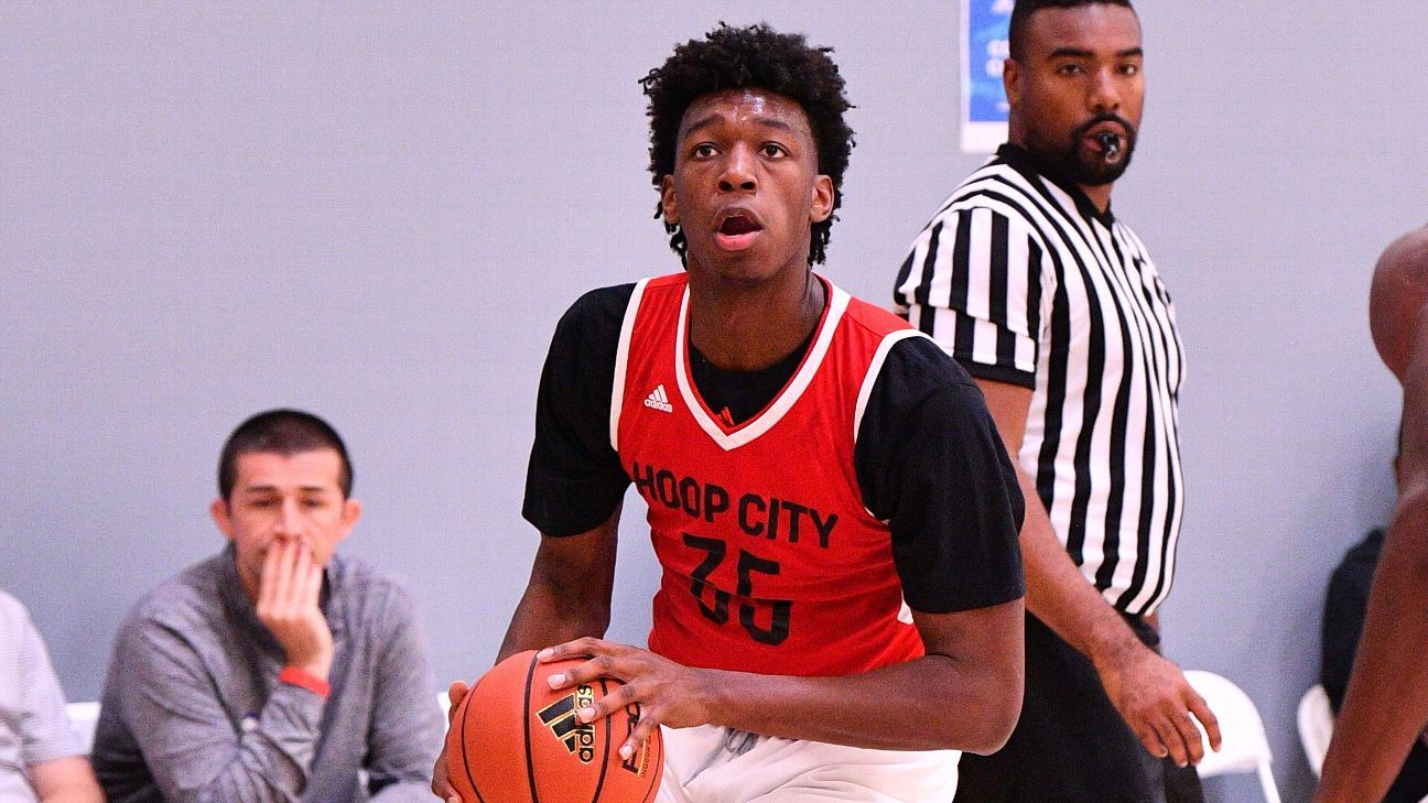 No. 1 recruit James Wiseman commits to Memphis