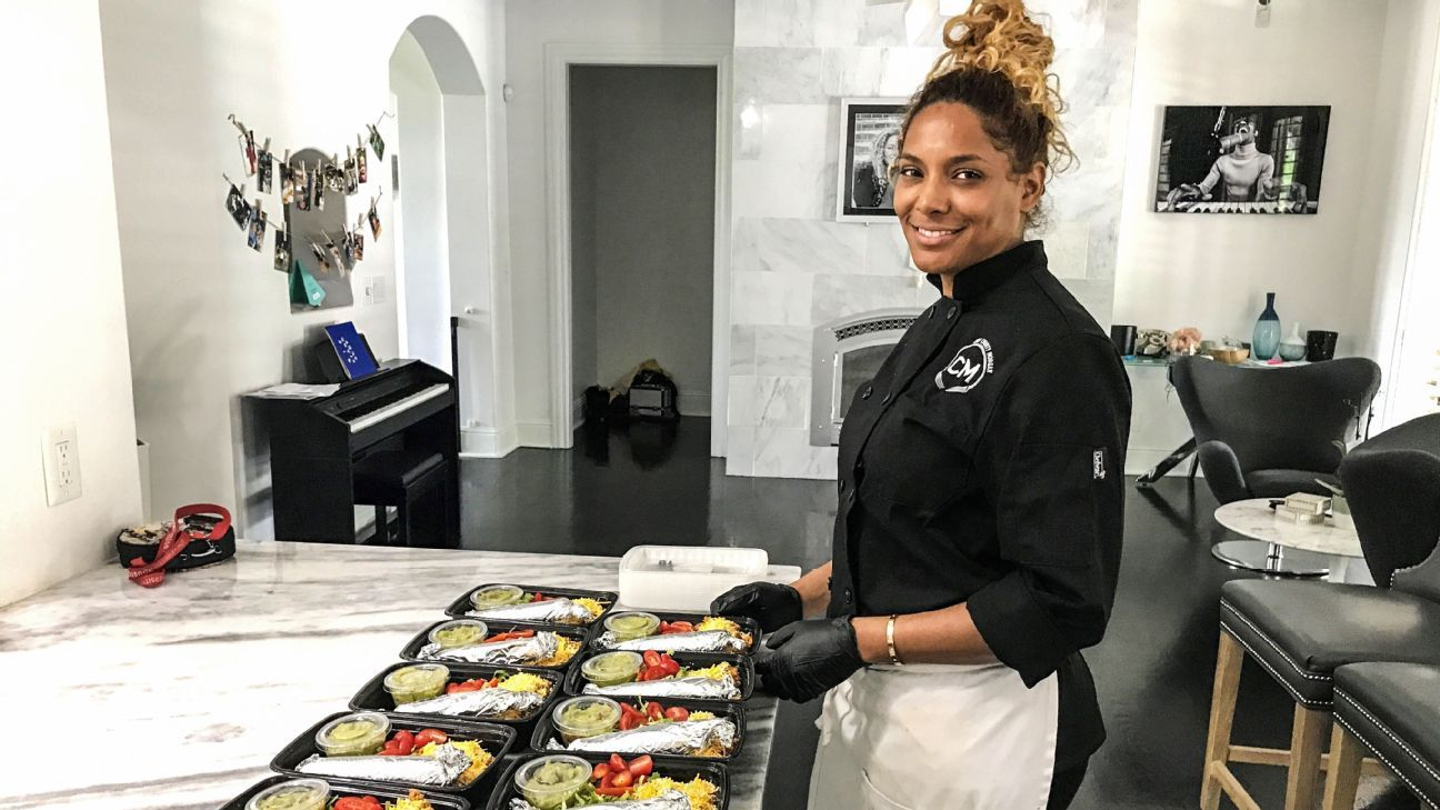 Chef Charity Morgan enters Year 2 prepping meals for husband Derrick and a growing list of Titans who say they recover faster on a plant-based diet.