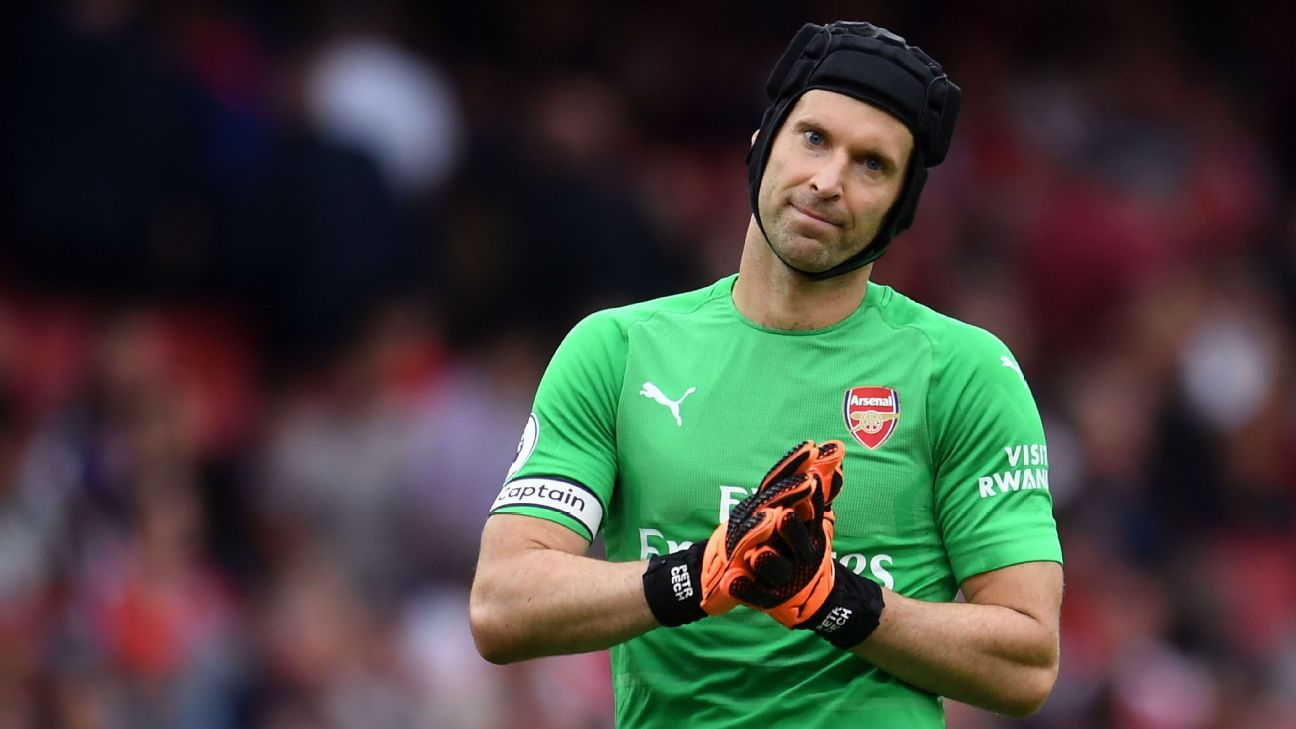 Cech to keep Arsenal No. 1 spot - Emery