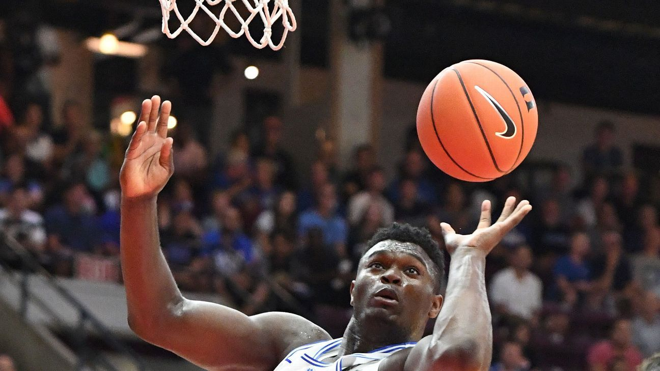 Duke Blue Devils, Zion Williamson look scary on Canada tour