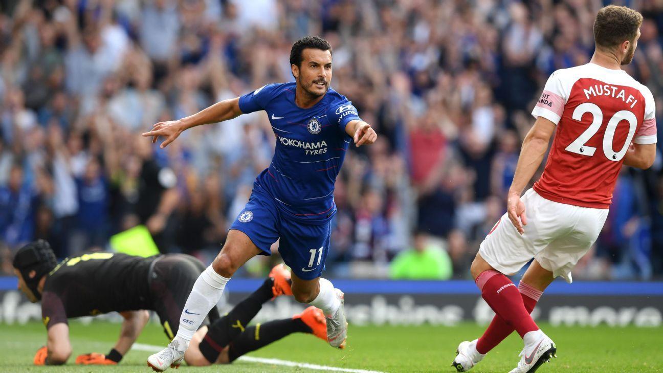 Chelsea vs. Arsenal - Football Match Summary - August 18 ...