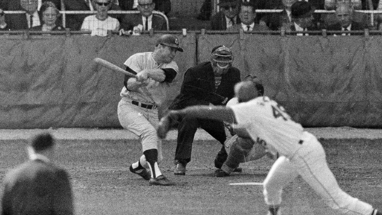 Mickey Mantle's 1964 World Series jersey sold at auction for $1.32M