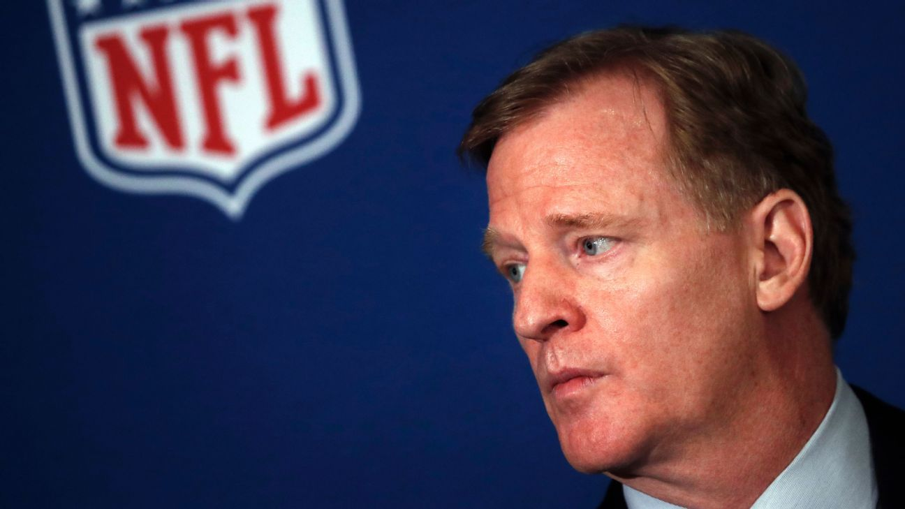 NFL commissioner Roger Goodell joined Saints owner Gayle Benson and a trio of players on Tuesday for an in-depth look at New Orleans' criminal justice system. In Arizona, Cardinals president Michael Bidwill and three players met with the state's governor.