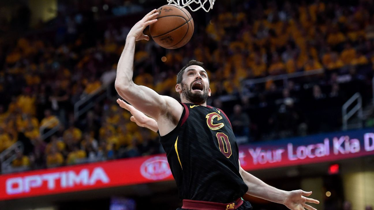 Kevin Love. Cleveland Cavaliers, sore foot out vs. Indiana Pacers