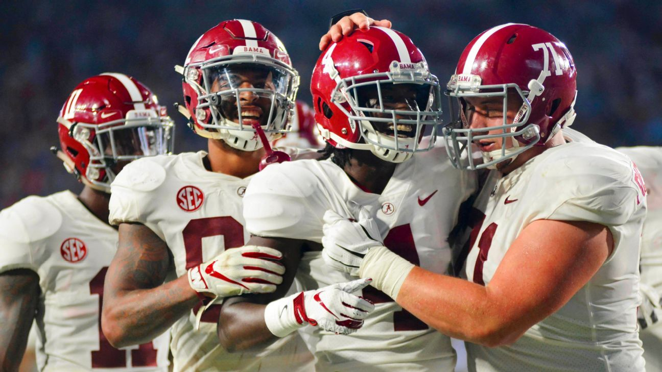 Can any ranked opponent on Alabama's future schedule beat the Tide? Cast your vote.