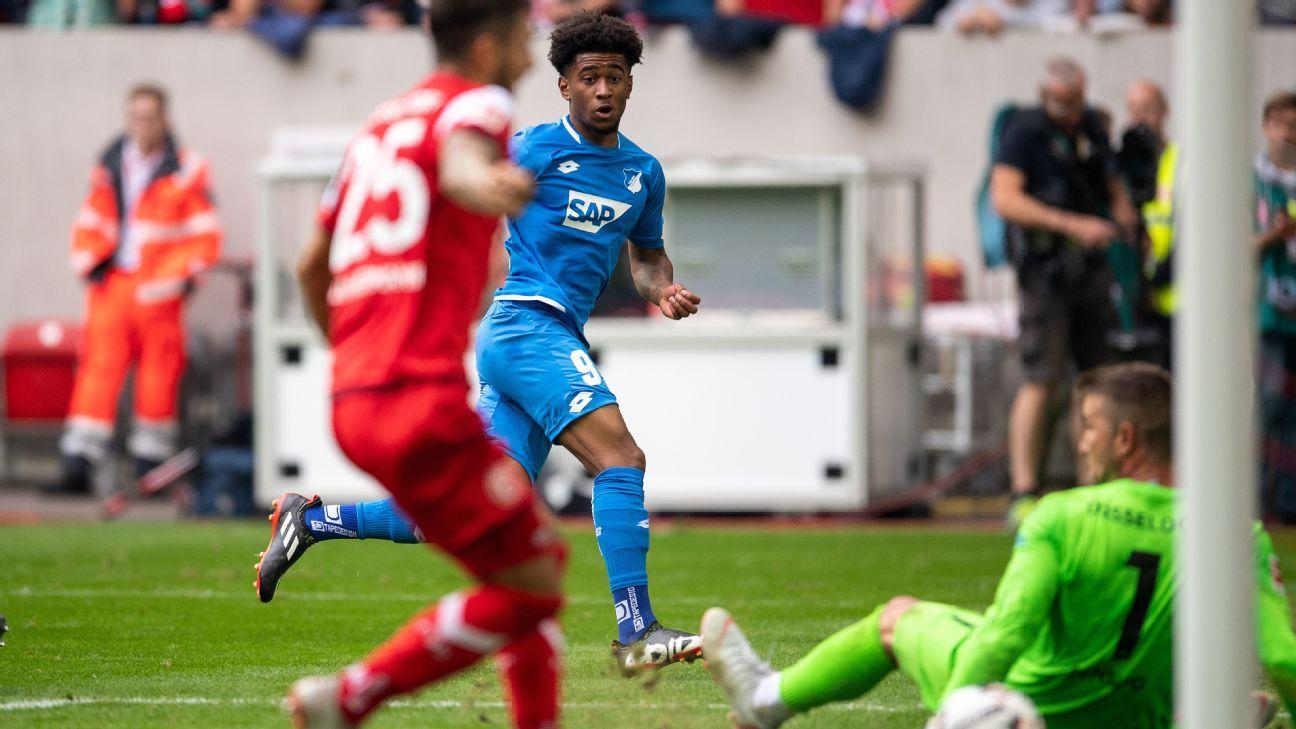Arsenal's Nelson scores on Hoffenheim debut