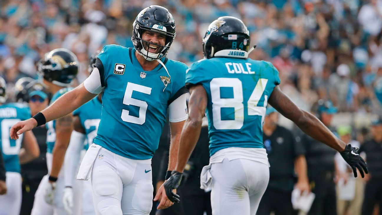 Blake Bortles is good. Patrick Mahomes is better. And a player retired at halftime. The NFL has been wildly entertaining through two weeks.