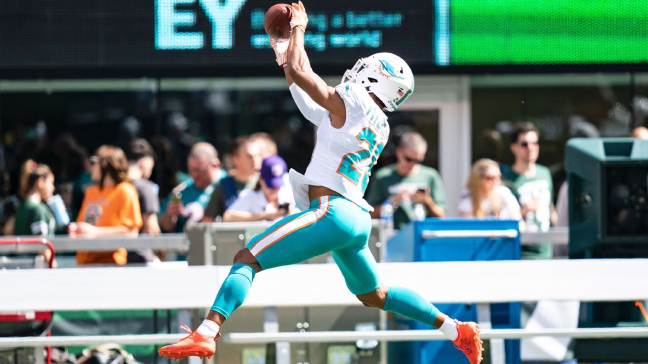 Representatives for Dolphins defensive back Minkah Fitzpatrick last week filed a trademark application for