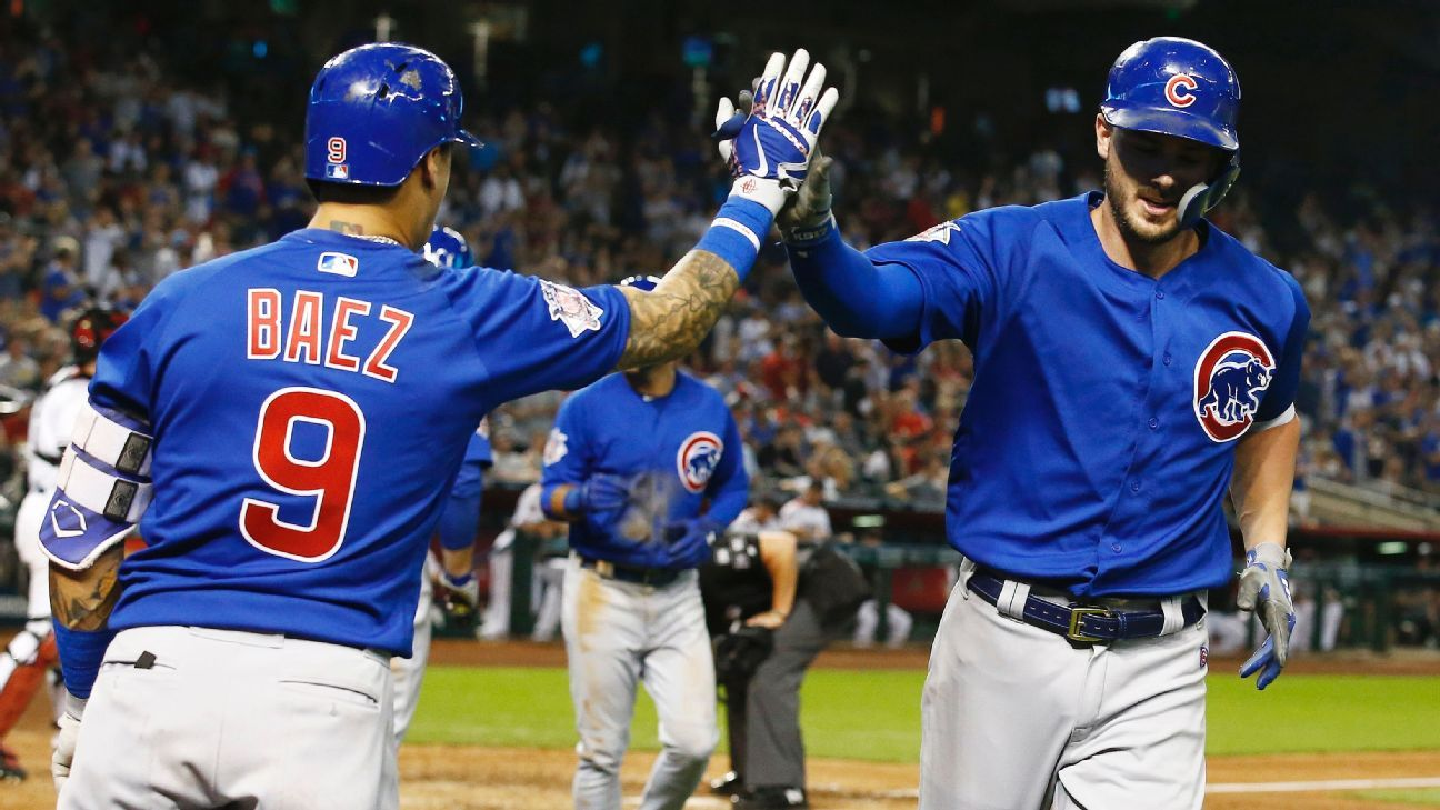Production from Kris Bryant, Javier Baez and Anthony Rizzo plus a dominant outing by Kyle Hendricks adds up to a high-quality win for the Cubs.