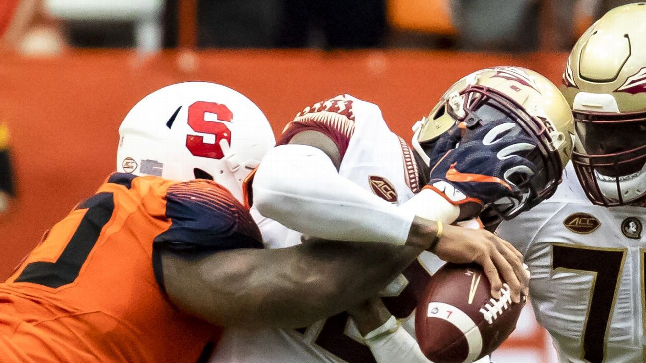 In normal times, the Big Ten would own this week's Bottom 10. But friends, when FSU gets dominated by Syracuse and squeaks by Samford, we are not in normal times.