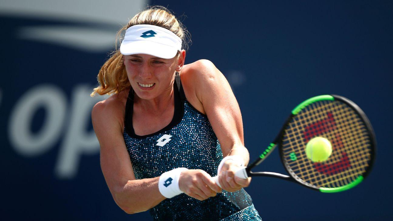 Ekaterina Alexandrova defeats Jelena Ostapenko at Korea Open