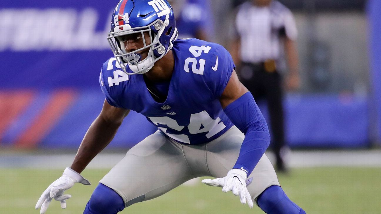 Source: Giants trading CB Apple to Saints