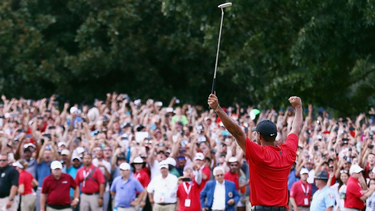 How Tiger Woods came back from nearly being out of golf to winning the Tour Championship and making an unlikely Ryder Cup team