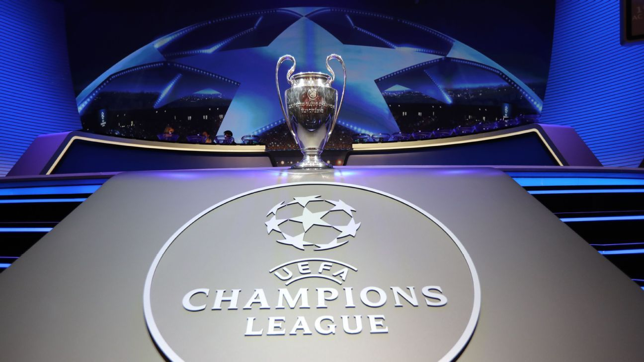 Champions League draw: Manchester United face Paris Saint-Germain, Liverpool play Bayern Munich