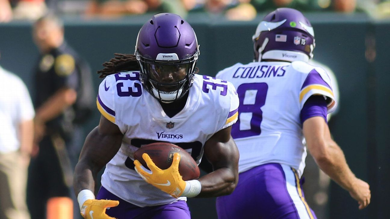 Vikings running back Dalvin Cook was back to being limited on Friday after practicing in full on Thursday, the first time he was able to go through an entire session since injuring his left hamstring in Green Bay on Sept. 16.