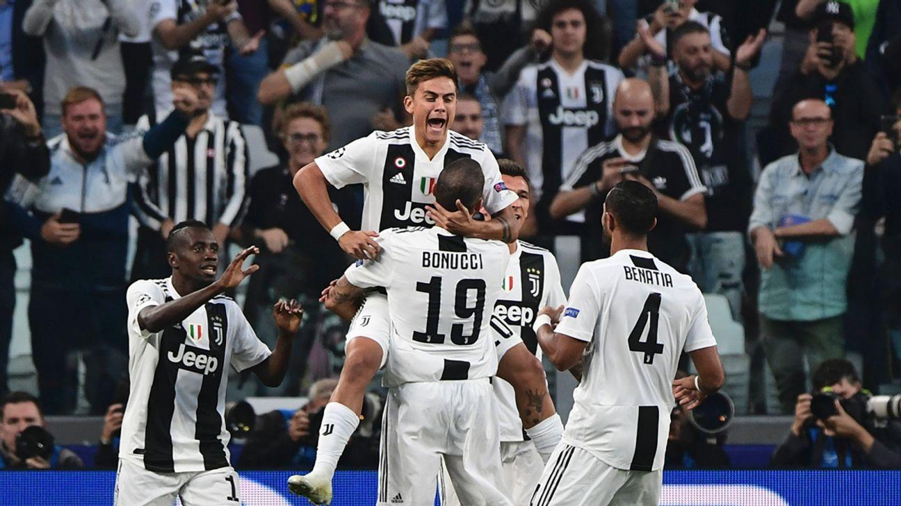 Juventus vence Young Boys