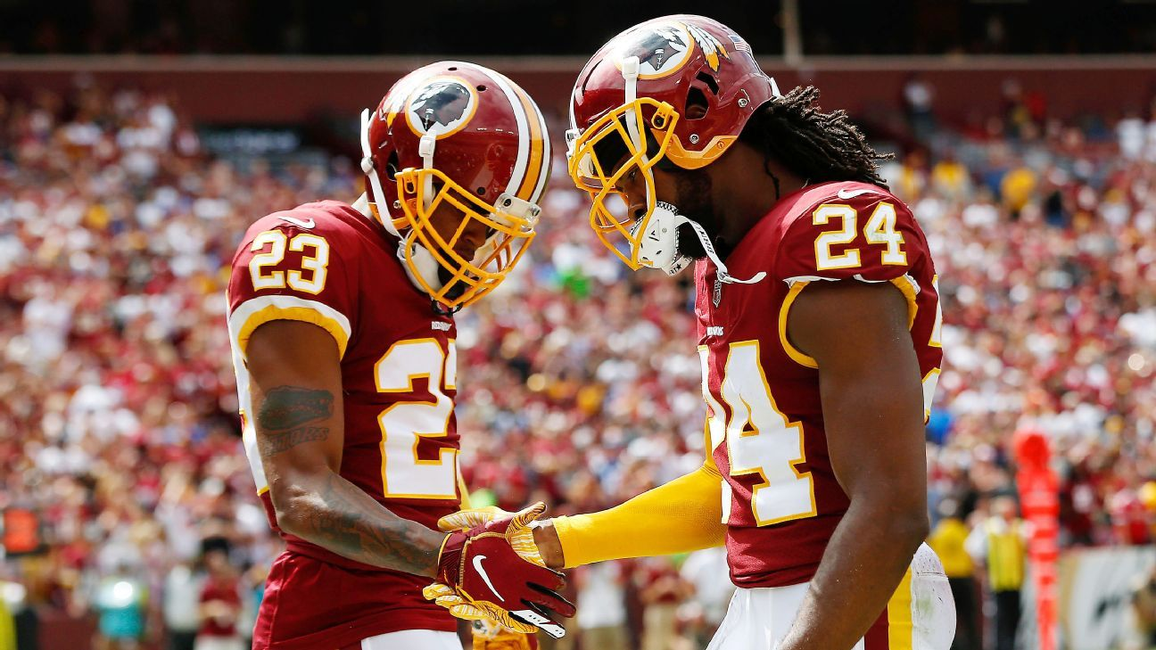 Responding to criticism that he's the Redskins' third-best cornerback and