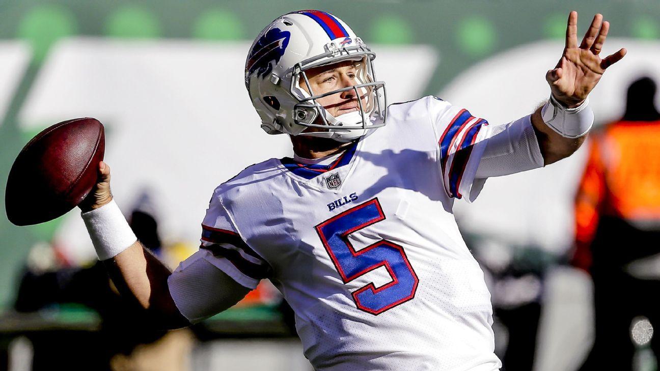Bills should start Josh Allen despite Matt Barkley buzz