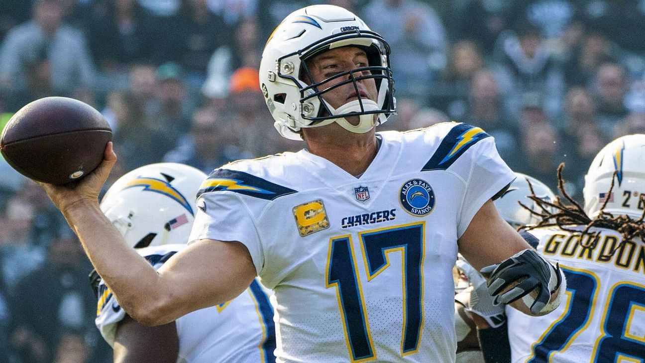 After handling the Raiders, the Chargers have their first six-game winning streak since 2009 and their first 7-2 start since 2006.