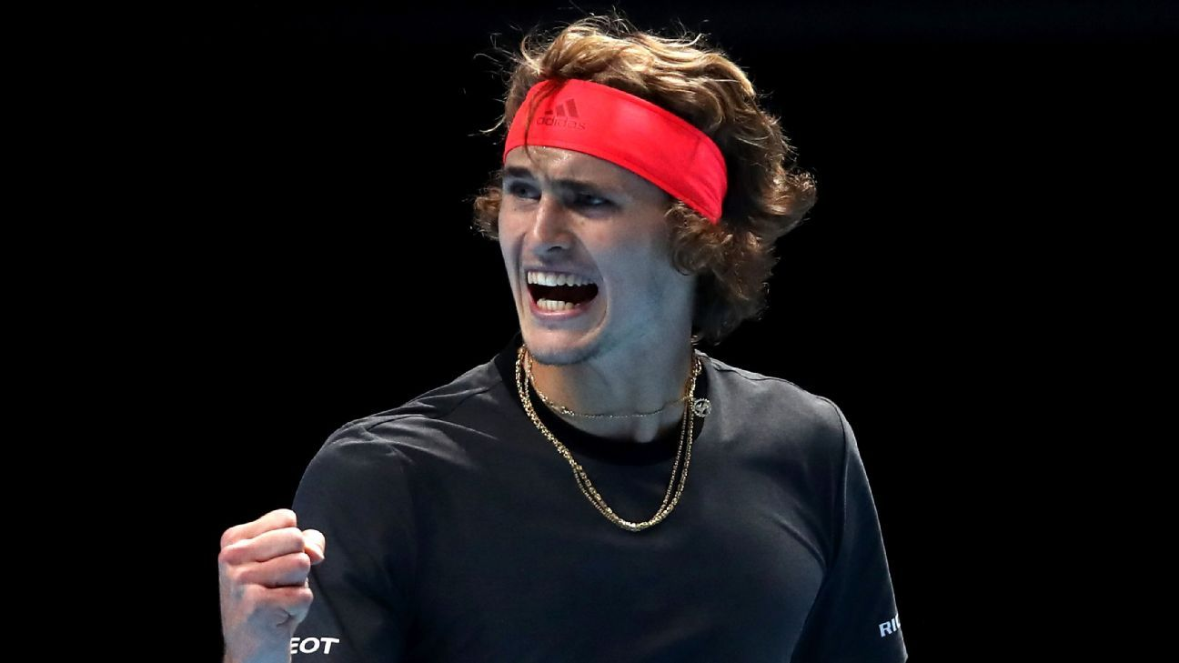 Alexander Zverev stuns Novak Djokovic to win ATP Finals title