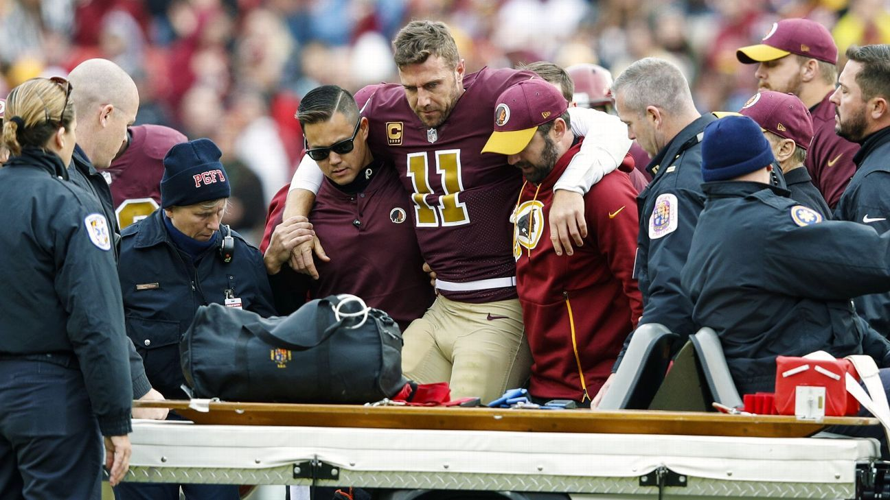 Following reports about the severity of Alex Smith's right leg injury, the Redskins issued a statement requesting privacy for the quarterback and his family.
