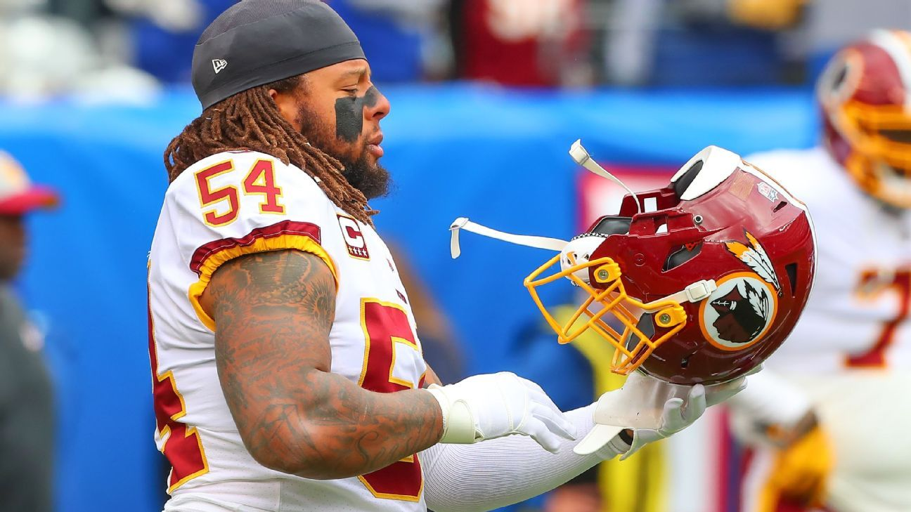 Mired in a four-game losing streak, Redskins linebackers Zach Brown and Mason Foster have made their frustrations known. Brown said he believes his days are numbered with the team, while Foster criticized the team and fans in a leaked Instagram exchange.