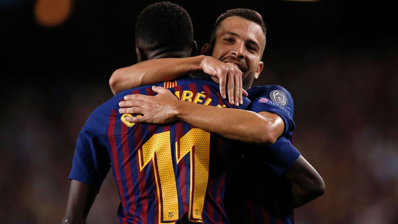 Barça: Dembélé adresse un message aux dirigeants et à ses coéquipiers. Jordi Alba réagit!