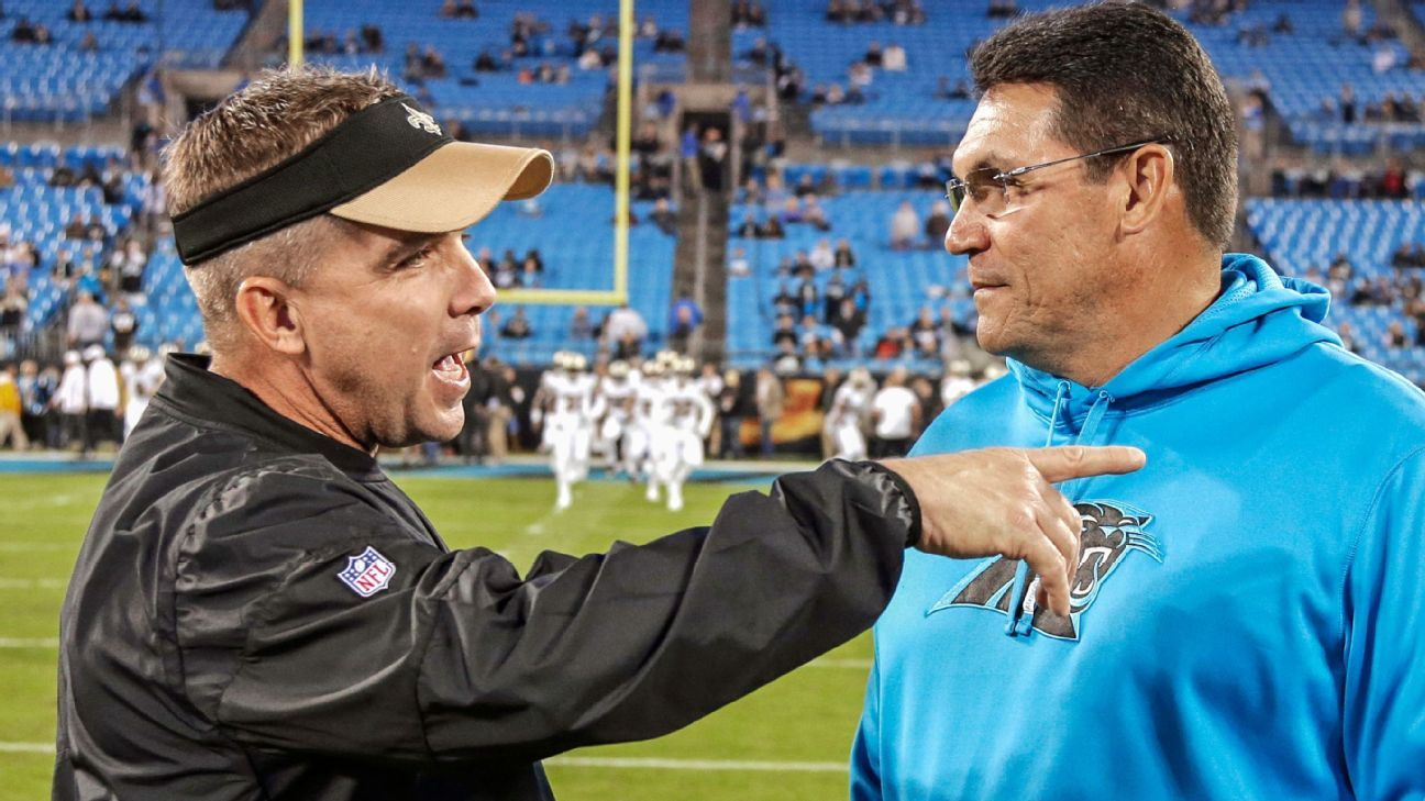 Panthers should keep Ron Rivera, and Sean Payton is a prime example of why