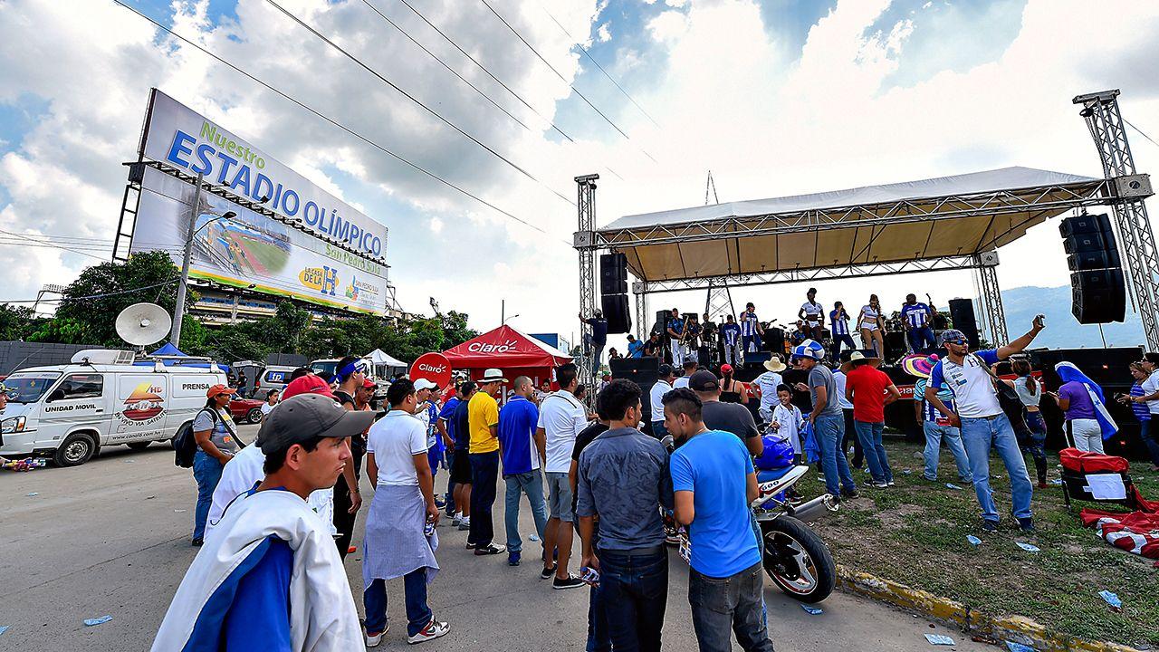Honduras vs. México