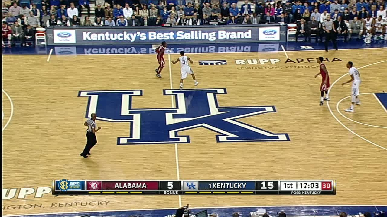 1H UK K. Towns made Layup.