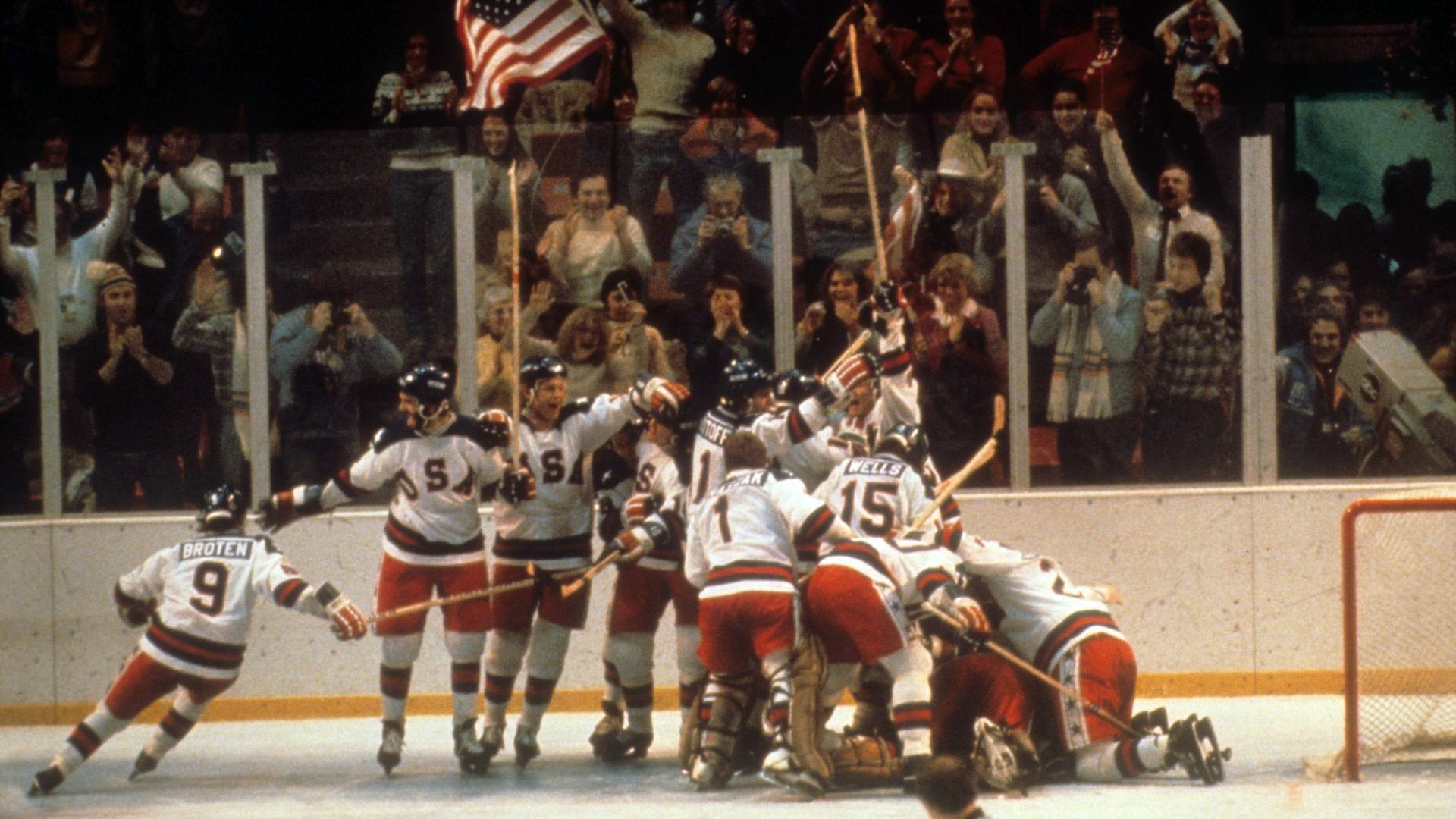 U.S. hockey team makes miracle on ice