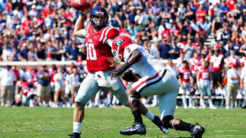 No. 23 Ole Miss dominant in win over No. 12 Georgia