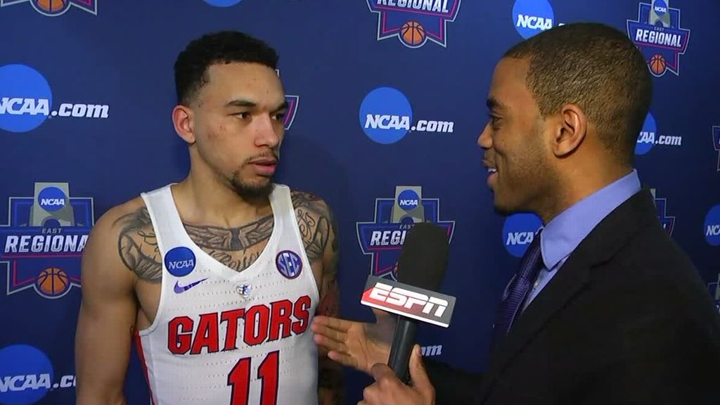 Chiozza can't believe he connected on winning shot