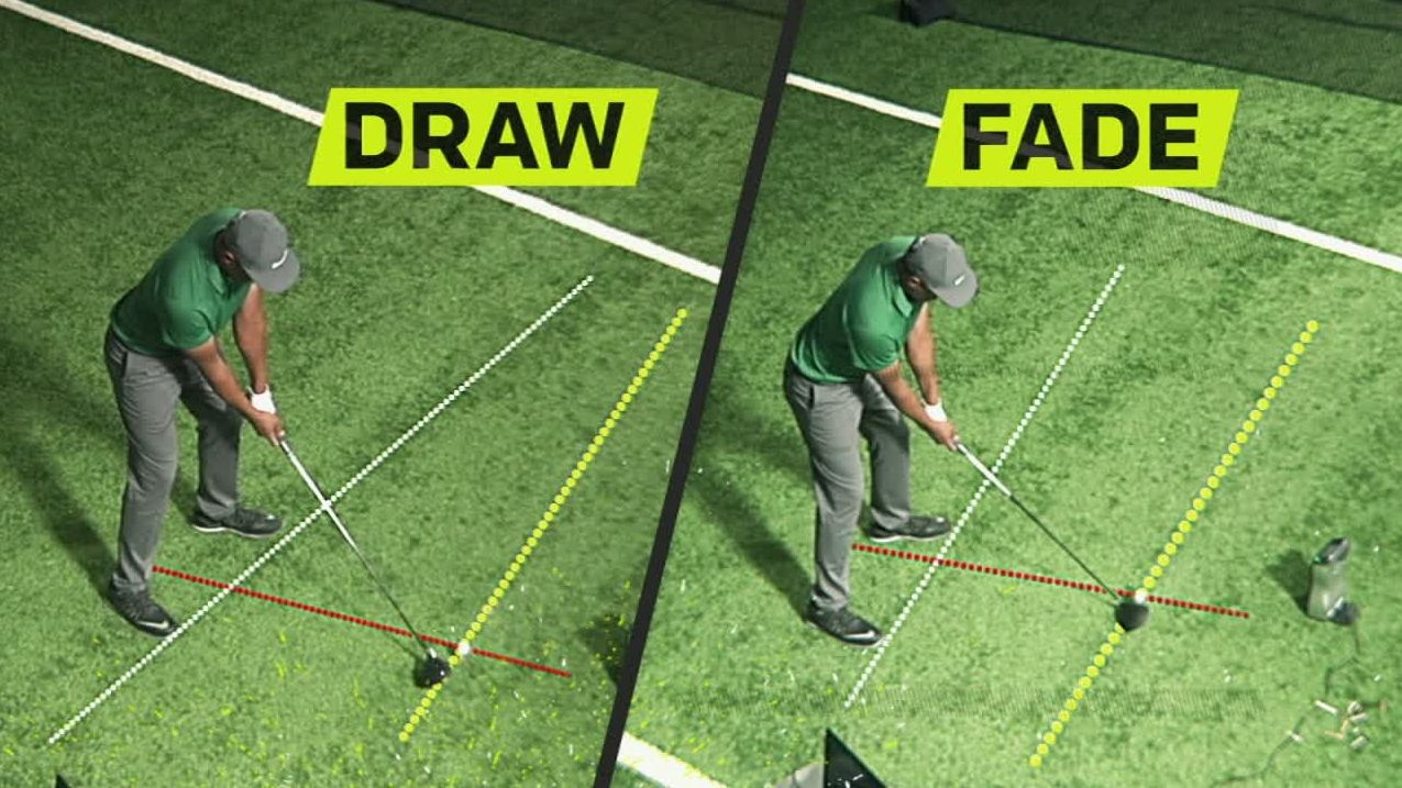 how to play a draw and fade in golf