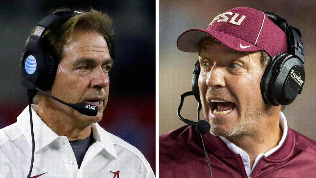 Wilner: FSU, Bama two best in country