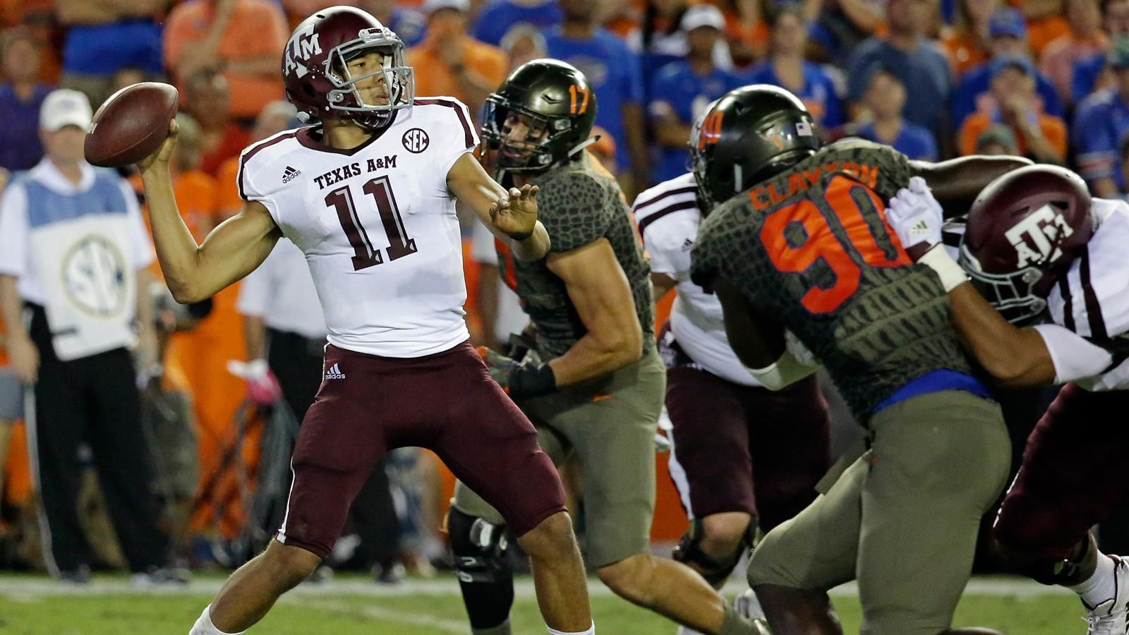 Texas A&M hangs on to beat Florida 19-17