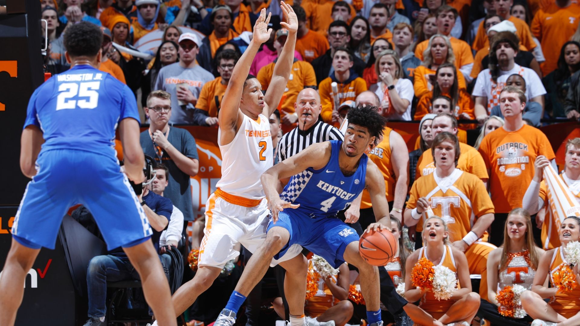 Kentucky Wildcats Basketball 2018 Sec Matchups Revealed: Tennessee Outlasts Kentucky In Fiery Matchup