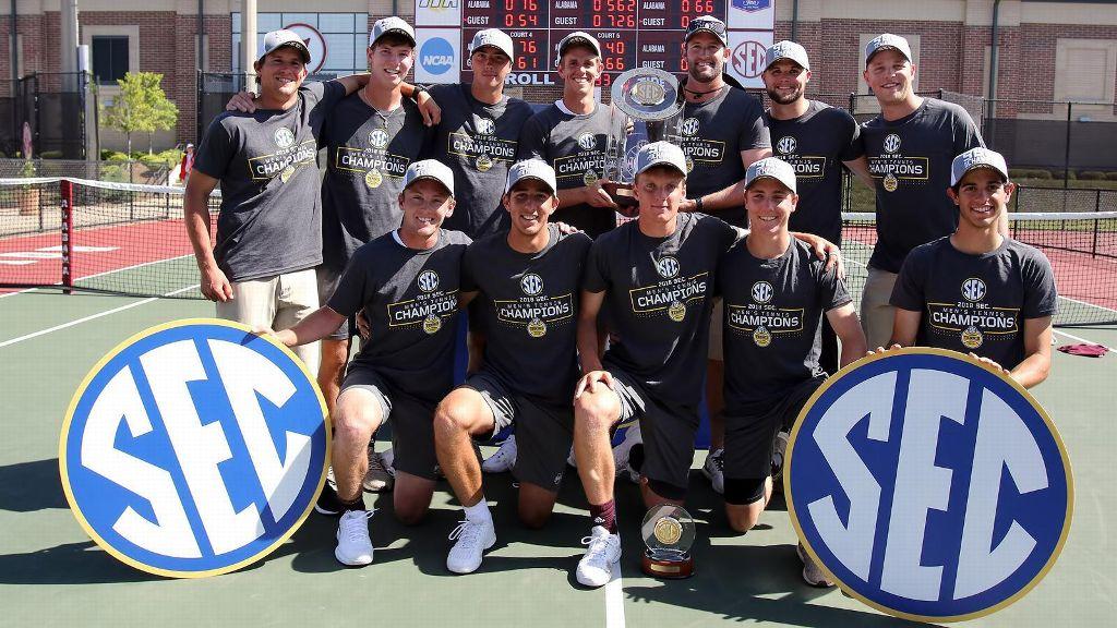 Mississippi State wins SEC Men's Tennis Championship