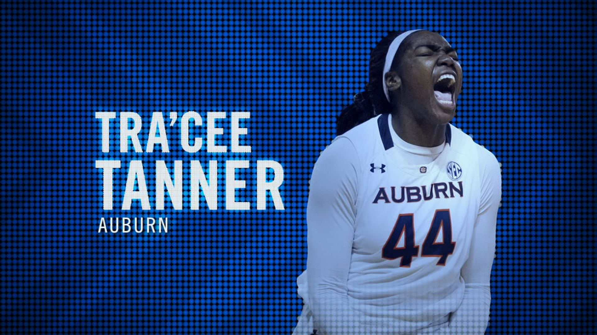 I am the SEC: Auburn's Tra'Cee Tanner