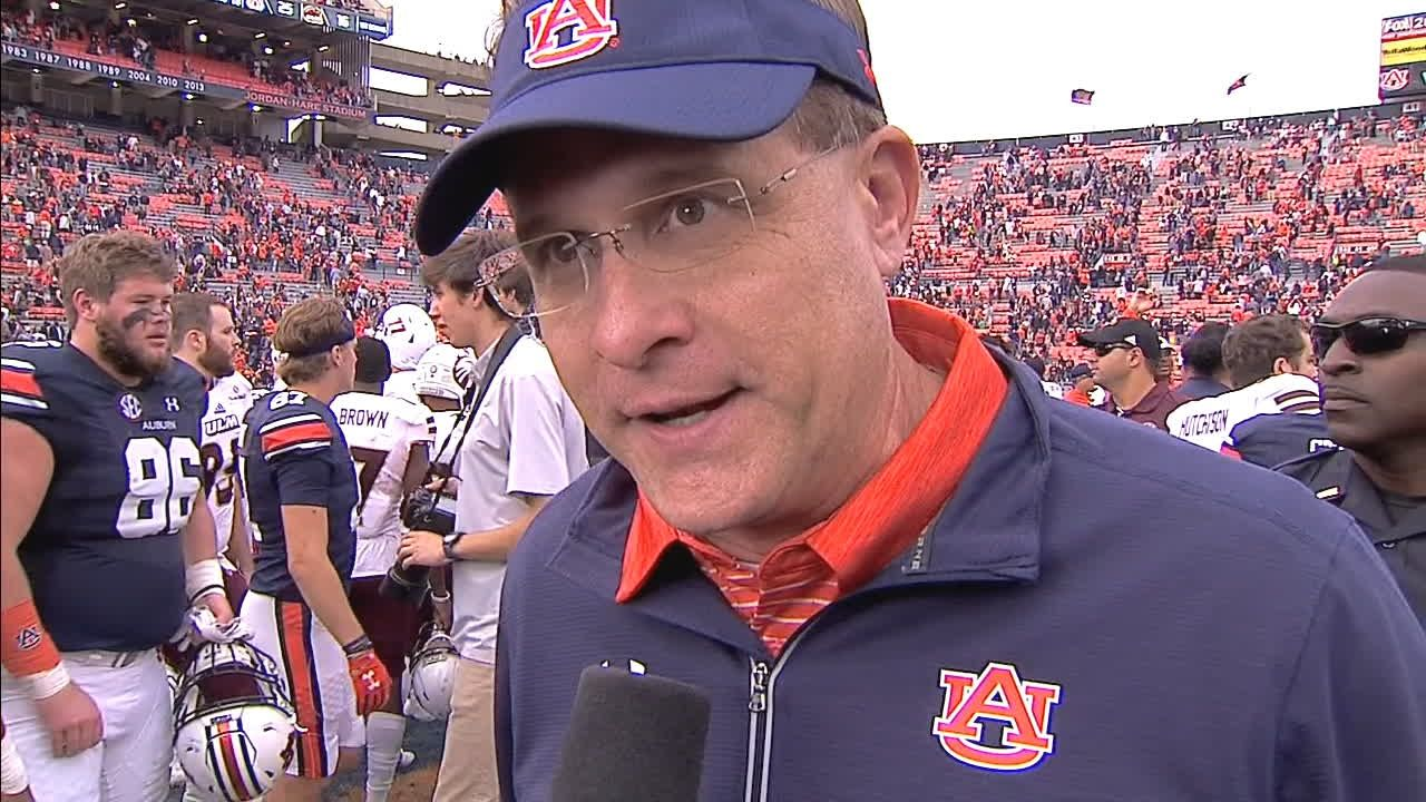 Malzahn: 'I'm proud of our team'